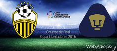Deportivo Táchira vs Pumas ¡En vivo por internet! | Octavos de Copa Libertadores 2016 - https://webadictos.com/2016/04/26/deportivo-tachira-vs-pumas-octavos-2016/?utm_source=PN&utm_medium=Pinterest&utm_campaign=PN%2Bposts