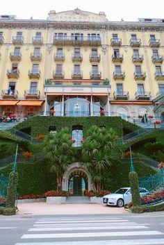 Arriving in Lake Como - The Grand Hotel Tremezzo