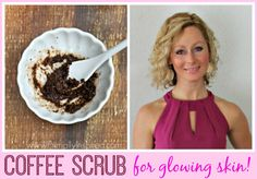 Homemade Coffee Scrub and Mask Recipe with Coconut Oil!  Primally Inspired