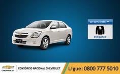 Tem carro mais elegante que o Chevrolet #Cobalt? Nós achamos que não, e ele também! ;) www.consorciodeauto.com.br