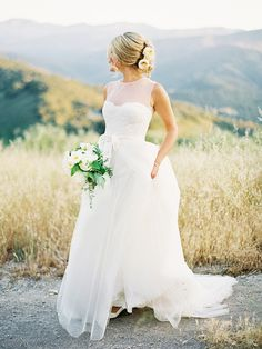 The Most Popular Wedding Dress Trends of the Season via @WhoWhatWear