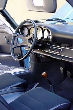 Gulf Blue 1972 Porsche 911T Targa