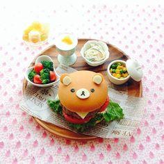 Cheeseburger ~ Rilakkuma