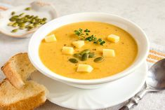 Pasta Pollo, Deli, Cheeseburger Chowder, Thai Red Curry, Soup, Ethnic Recipes, Queso Mozzarella, Snacks Saludables, Tortilla