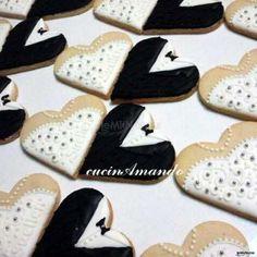 #biscottini a forma di #cuore, utilizzabili anche come segnaposto! Baby Shoes, Wedding Day, Cookies, Desserts, Pasta, Weddings, Decorated Cookies, Hearts, Wedding