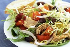 Whip Up a Colorful Ensalada Mixta, Spanish Mixed Green Salad