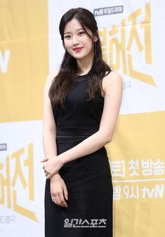 Actress Moon Ga-young has joined 'The Great Seducer' alongside co-stars are Woo Do-hwan and Red Velvet 'Joy'. Korean Actresses, Korean Actors, Korean Celebrities, Celebs, Hyun Soo, Cute Couple Wallpaper, Korean Dress, Young Fashion, Beautiful Person