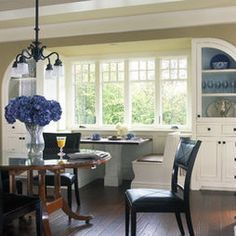 The Altadena, a Mission-style chandelier, looks lovely in a shingle-style home.