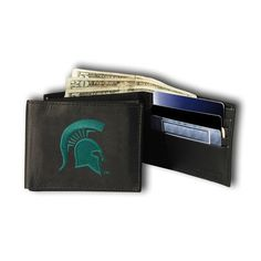 Michigan State Spartans Embroidered Trifold Wallet