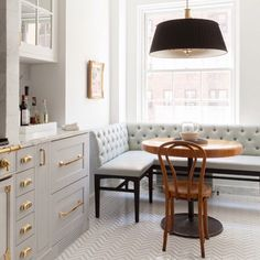 This would go perfect with our mix of styles combined. I don't like that table & chair - doesn't go with the style/space