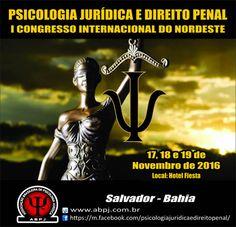 I CONGRESSO INTERNACIONAL DO NORDESTE PSICOLOGIA JURÍDICA E DIREITO PENAL