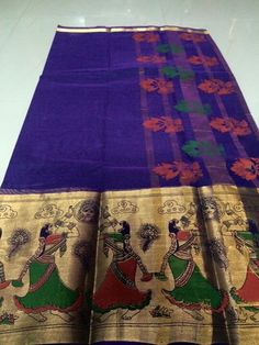 A personal favorite from my Etsy shop https://www.etsy.com/listing/287210837/a-63-varli-print-pure-cotton-saree