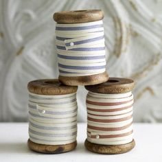 Stripe Ribbon Spool