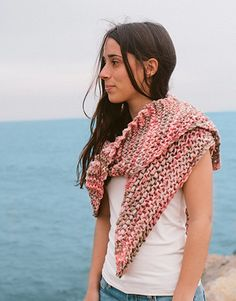Revista extra 16 Primavera / Verano | 460: Mujer Pañuelo | Beige-Coral-Naranja salmón