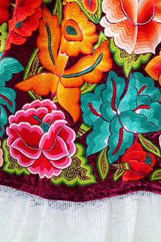Grand Sewing Embroidery Designs At Home Ideas. Beauteous Finished Sewing Embroidery Designs At Home Ideas. Brazilian Embroidery Stitches, Mexican Embroidery, Types Of Embroidery, Folk Embroidery, Learn Embroidery, Beginner Embroidery, Embroidery Needles, Embroidery Designs, Embroidery Supplies