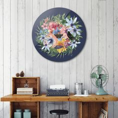 Discover «SPRING IV», Limited Edition Disk Print by Gloria  Sánchez - From 59€ - Curioos