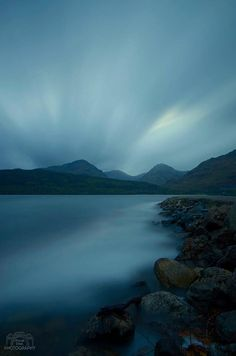 Long exposure at Inversnaid. Photo by David Steel