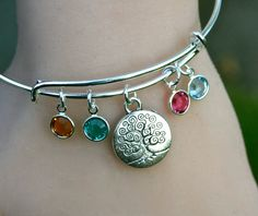 Tree Of Life Family Tree  Alex and Ani Inspired by MyInitialCharm