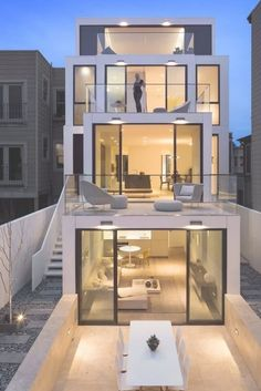 59 Best Modern House Architecture Style To Follow #homeideas #housedesign #modernhouse > House architecture styles Minimalist house design Luxury modern homes