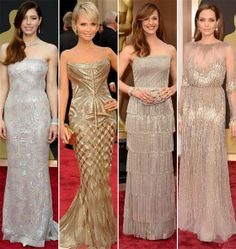 Metallics, white tuxedos and more Oscars red carpet trends