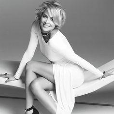 Sharon Stone's Secrets to Aging Gracefully - Shape.com
