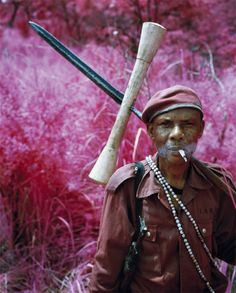 RICHARD MOSSE http://www.widewalls.ch/artist/richard-mosse/ #digital #art #photography