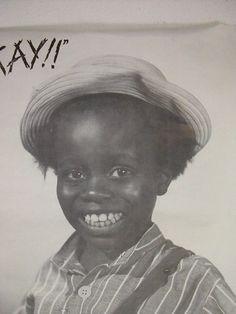 """""""Otay!""""  Buckwheat - Little Rascals"""