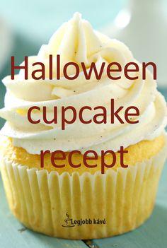 Halloween-re kreatív édesség. Halloween Cupcakes, Muffin, Desserts, Food, Tailgate Desserts, Deserts, Essen, Muffins, Postres