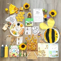 """We are having a buzzy-day ! We have been so inspired by our new """"why do we need bees! We have learnt some really interesting facts… Bee Activities, Forest School Activities, Montessori Activities, Preschool Activities, Preschool Lessons, Art Lessons Elementary, Preschool Crafts, Toddler Themes, Bee Book"""