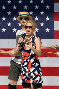 Megan Hilty Rehearses for PBS' A CAPITOL FOURTH in Washington, D.C. 2012