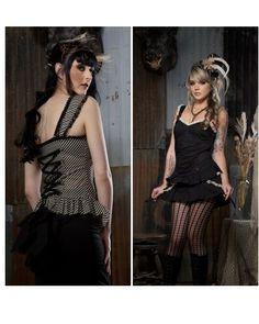 Lip-Service-Step-In-Time-Cami-Steampunk-Victorian-Lolita-Gothic-Vampire-Pirate