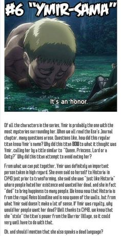 Warning spoilers, for those who don't know this