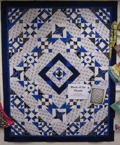 Block of the Month 2010 - 2011 - Heirloom Creations