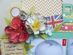 Guest designer Sarah shows us how to make these lovely paper flowers! Paper Flowers, Kit, Spring, Frame, How To Make, Design, Home Decor, Picture Frame, Decoration Home