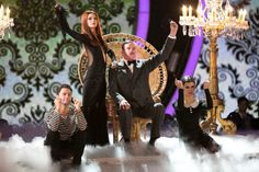 Sasha Anna Gary Addams Family Week 3