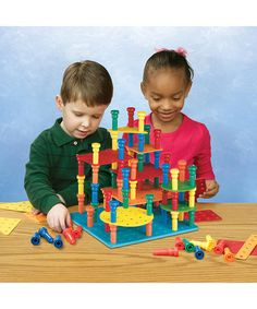 Another great find on #zulily! Tall-Stacker Pegs Building Set by Patch Products #zulilyfinds