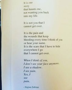 """13.4k Likes, 261 Comments - Najwa Zebian (@najwazebian) on Instagram: """"From #TheNectarofPain ❤ My hope is that by the end of 300 and some pages of The Nectar of Pain, you…"""""""