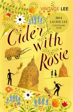 """Bees blew like cake-crumbs through the golden air, white butterflies like sugared wafers..."" Laurie Lee - Cider With Rosie"