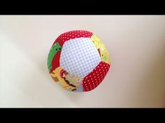 Video tutorial pelota pentágonos - Proyectos de patchwork