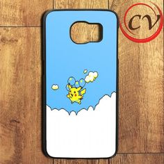 Blue Sky Pikachu Pokemon Samsung Galaxy S6 Edge Plus Case