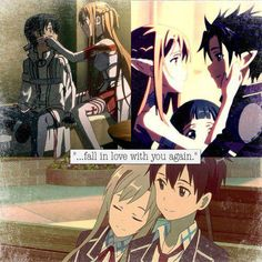 SAO~ i rewatched it today, the feels!!!!!!