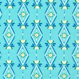"""""""Diamonds Are Forever in Blue"""" by  from the collection """"Lotus Pond"""". Available at www.pinkcastlefabrics.com."""