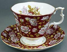 Royal Albert tea.