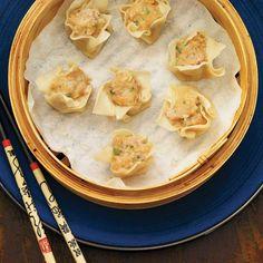 Ricardo's Recipe : Pork and Shrimp Dumplings Dumpling Sauce, Shrimp Dumplings, Asian Recipes, Healthy Recipes, Ethnic Recipes, Appetizer Recipes, Appetizers, Ricardo Recipe, Crumpets