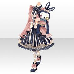 Anime Girl Dress, Anime Art Girl, Dress Drawing, Drawing Clothes, Chibi Hair, Cocoppa Play, Fashion Design Drawings, Star Girl, Character Outfits