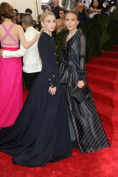 Having a Ball - Ashley and Mary Kate Olsen-Wmag
