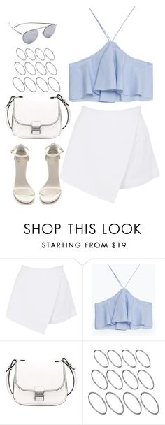 """""""Untitled#4565"""" by fashionnfacts ❤ liked on Polyvore featuring BeginAgain Toys, Zara, Stuart Weitzman, Proenza Schouler, ASOS and Maison Margiela"""