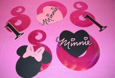 Hey, I found this really awesome Etsy listing at https://www.etsy.com/listing/246699782/set-of-5-minnie-mouse-1st-birthday