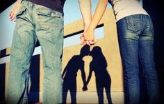 Aww cute couple holding hands kissing in the shadow Teen Couples, Couples In Love, Cute Photography, Engagement Photography, People Photography, Portrait Photography, Cute Couple Pictures, Couple Photos, Couple Stuff