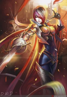 the noble knight - Fiora League of Legends  gathered by http://how2win.pl